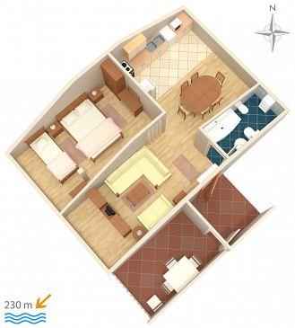 Apartament A-5582-b - Apartamenty Novi Vinodolski (Novi Vinodolski) - 5582