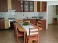 Tri Žala, Kitchen u smještaju tipa apartment, dopusteni kucni ljubimci i WIFI.