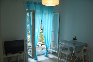 Dramalj, Dining room u smještaju tipa apartment, dostupna klima i WIFI.