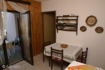 Splitska, Dining room u smještaju tipa apartment.