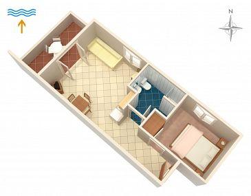 Apartament A-5617-d - Apartamenty Postira (Brač) - 5617