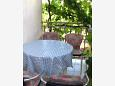 Balcony - Apartment A-566-a - Apartments Sućuraj (Hvar) - 566