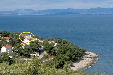 Property Postira (Brač) - Accommodation 5672 - Apartments near sea with pebble beach.
