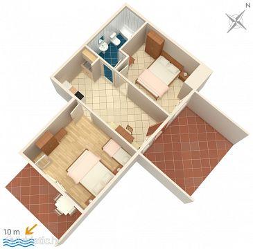 Apartment A-5688-b - Apartments Hvar (Hvar) - 5688