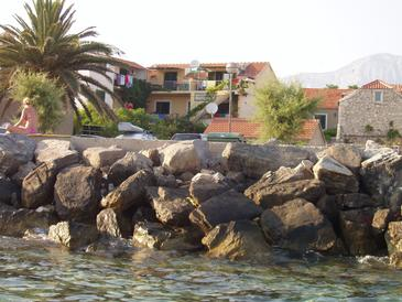 Property Sućuraj (Hvar) - Accommodation 569 - Apartments near sea with pebble beach.