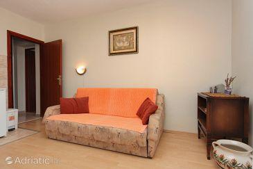 Stari Grad, Living room u smještaju tipa apartment, dostupna klima i WIFI.