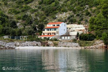 Property Uvala Prapratna (Hvar) - Accommodation 5704 - Apartments near sea with pebble beach.
