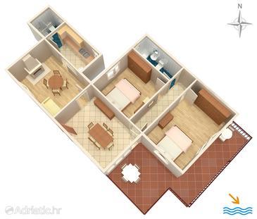 Apartment A-572-a - Apartments Korčula (Korčula) - 572