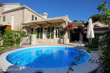 Property Svirče (Hvar) - Accommodation 5722 - Vacation Rentals with sandy beach.