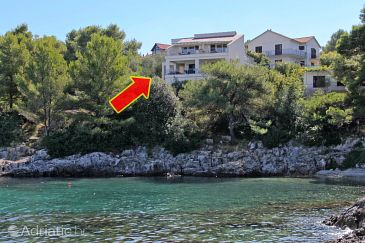 Property Jelsa (Hvar) - Accommodation 5723 - Apartments near sea with pebble beach.