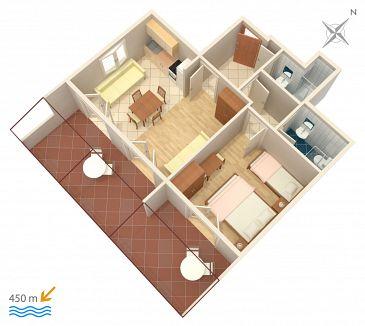 Apartament A-5724-e - Apartamenty Stari Grad (Hvar) - 5724