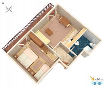 Apartment A-5724-f - Apartments Stari Grad (Hvar) - 5724