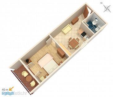 Apartment A-574-a - Apartments Brna (Korčula) - 574
