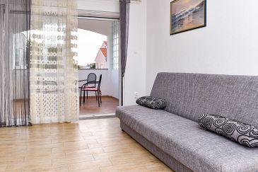 Srima - Vodice, Living room u smještaju tipa apartment, WIFI.