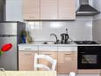 Srima - Vodice, Kitchen u smještaju tipa apartment, WIFI.