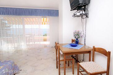 Kožino, Dining room u smještaju tipa studio-apartment, WIFI.