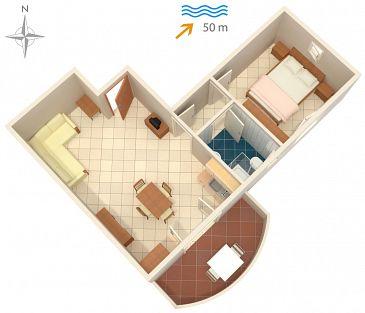 Apartament A-5766-d - Kwatery Ražanac (Zadar) - 5766