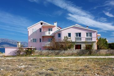 Property Ražanac (Zadar) - Accommodation 5766 - Apartments and Rooms near sea with pebble beach.