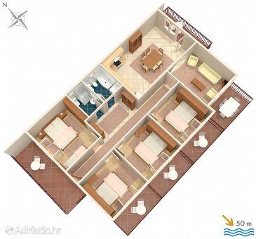 Apartment A-578-a - Apartments Sućuraj (Hvar) - 578