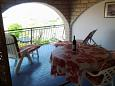 Terrace - Studio flat AS-5795-a - Apartments Zadar - Diklo (Zadar) - 5795
