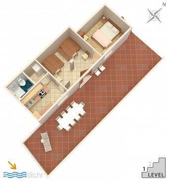 Apartment A-581-a - Apartments Uvala Torac (Hvar) - 581