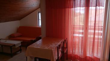 Sukošan, Dining room u smještaju tipa apartment, dostupna klima i WIFI.