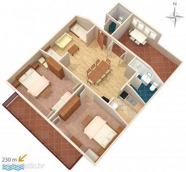 Apartment A-5879-b - Apartments Zadar - Diklo (Zadar) - 5879