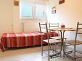 Zadar - Diklo, Dining room u smještaju tipa apartment, WIFI.