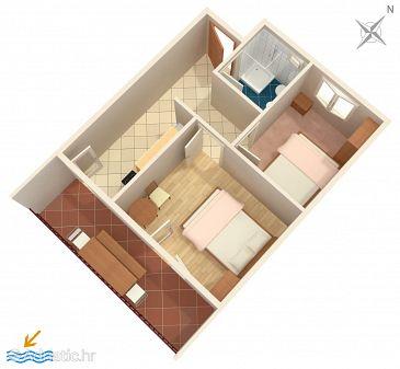 Apartment A-589-a - Apartments Uvala Torac (Hvar) - 589