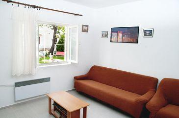 Sukošan, Living room u smještaju tipa house, dopusteni kucni ljubimci.