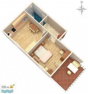 Apartament A-5899-b - Apartamenty Biograd na Moru (Biograd) - 5899