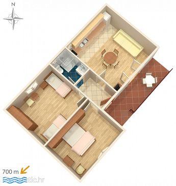 Apartment A-5899-d - Apartments Biograd na Moru (Biograd) - 5899
