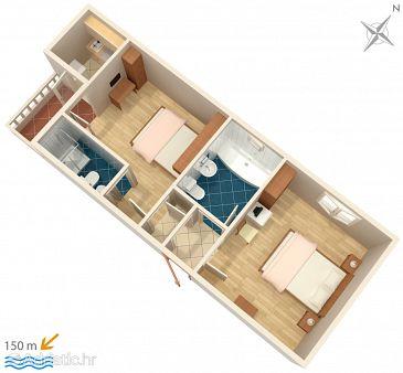 Apartment A-5973-b - Apartments Duće (Omiš) - 5973