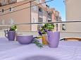 Balcony - Apartment A-5988-a - Apartments Omiš (Omiš) - 5988