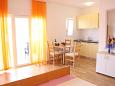 Dining room - Studio flat AS-6018-c - Apartments Slatine (Čiovo) - 6018