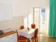 Dining room - Studio flat AS-6025-a - Apartments Komarna (Ušće Neretve) - 6025