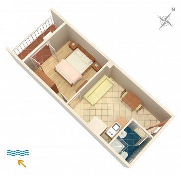 Apartament A-604-c - Kwatery Polače (Mljet) - 604