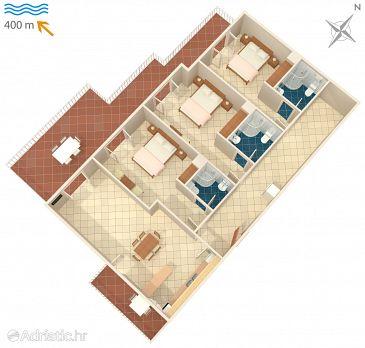 Apartment A-6043-a - Apartments Brela (Makarska) - 6043