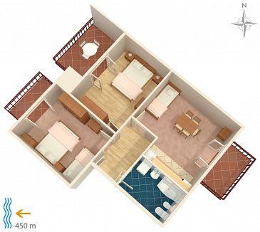 Apartament A-6044-a - Apartamenty Podstrana (Split) - 6044
