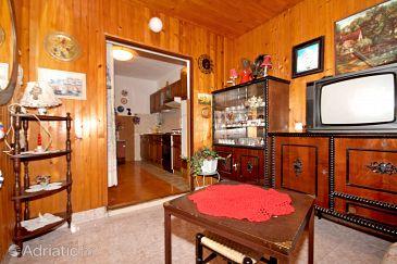 Supetar, Living room u smještaju tipa apartment, dostupna klima.