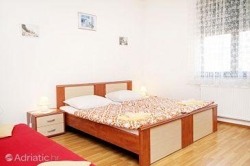 Kaštel Štafilić, Bedroom u smještaju tipa room, dostupna klima i WIFI.