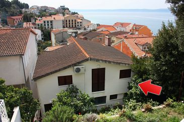 Podgora, Makarska, Property 6082 - Apartments blizu mora with pebble beach.