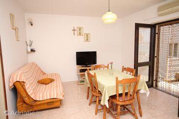 Žaborić, Living room u smještaju tipa apartment, dopusteni kucni ljubimci i WIFI.