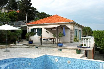 Property Tisno (Murter) - Accommodation 6107 - Vacation Rentals near sea with pebble beach.
