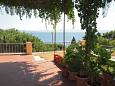 Terrace - view - Apartment A-6112-a - Apartments Uvala Tvrdni Dolac (Hvar) - 6112