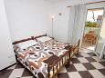 Bedroom 4 - House K-6115 - Vacation Rentals Seget Vranjica (Trogir) - 6115