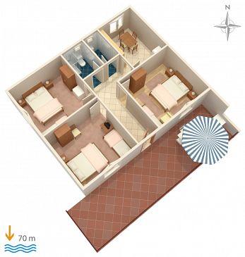 Apartment A-6116-c - Apartments Marina (Trogir) - 6116