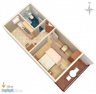 Apartment A-6116-e - Apartments Marina (Trogir) - 6116