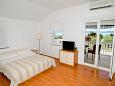 Bedroom - Studio flat AS-6131-b - Apartments Sukošan (Zadar) - 6131