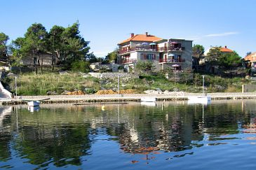 Property Nin (Zadar) - Accommodation 6153 - Apartments near sea with sandy beach.